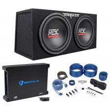 With Enclosure - Sub and Amp Combos - Subwoofers and Enclosures