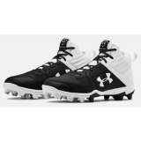 Under Armour Mens Baseball Cleat 1264167 Yard Low ST Black /& White Multiple Size