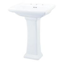Gerber Plumbing Fixtures Llc G0029842 Maxwell Pedestal White
